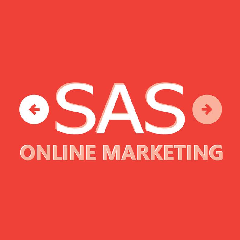 SAS Online Marketing Logo