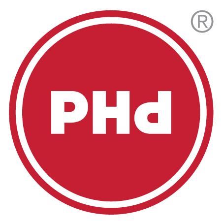 PHd design Logo