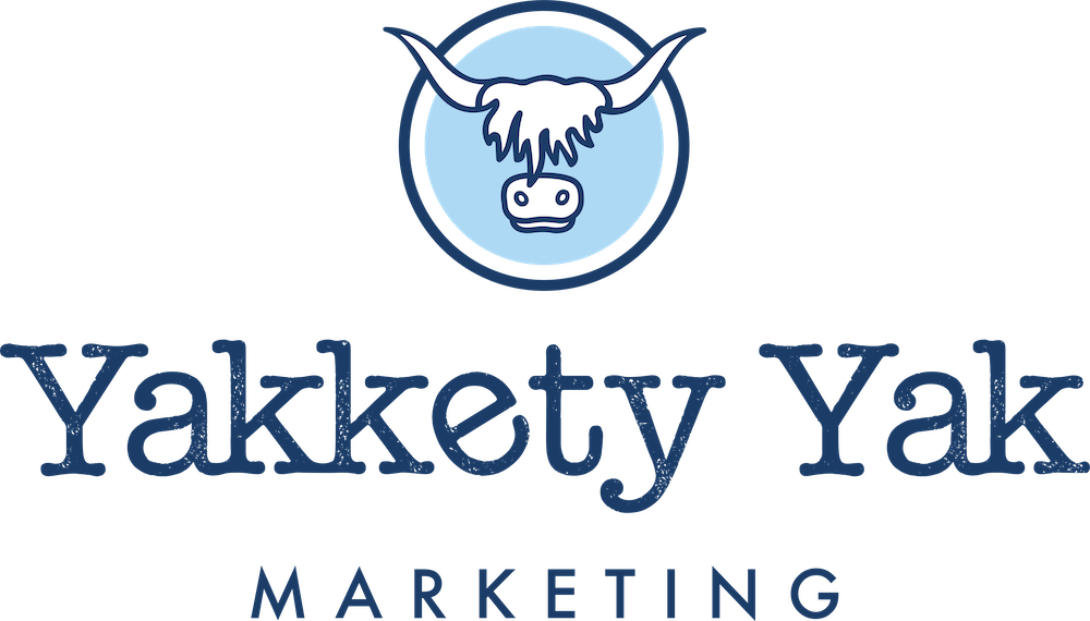 Yakkety Yak Marketing Logo