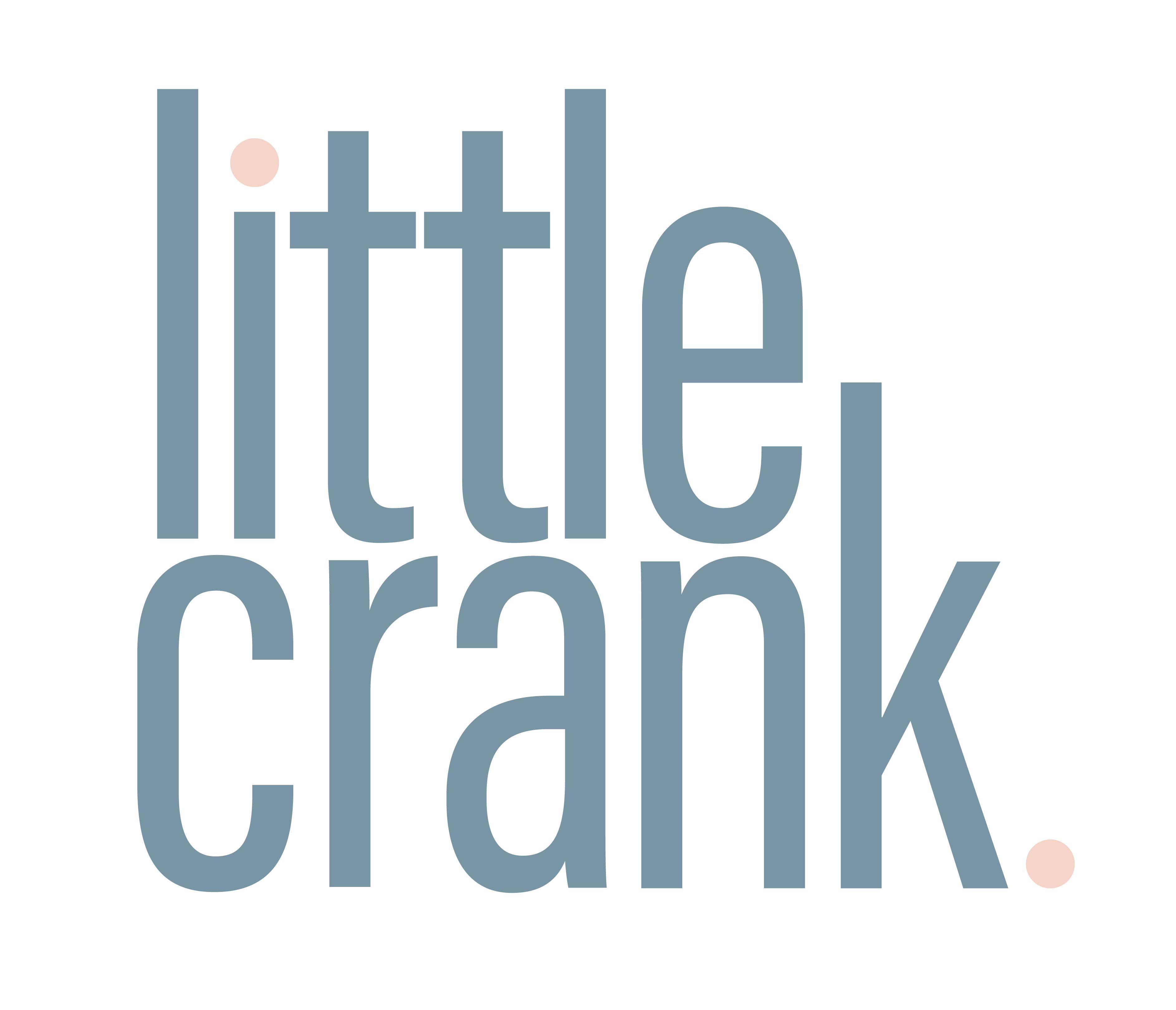 little crank. Logo