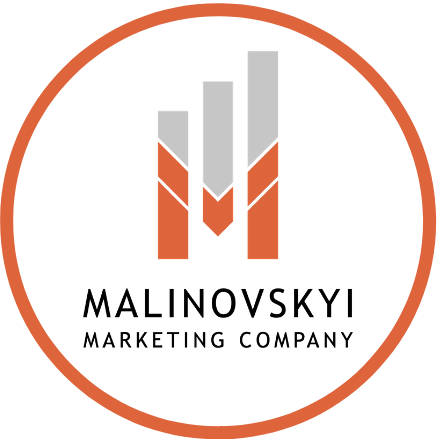 Malinovskyi Marketing Company Logo