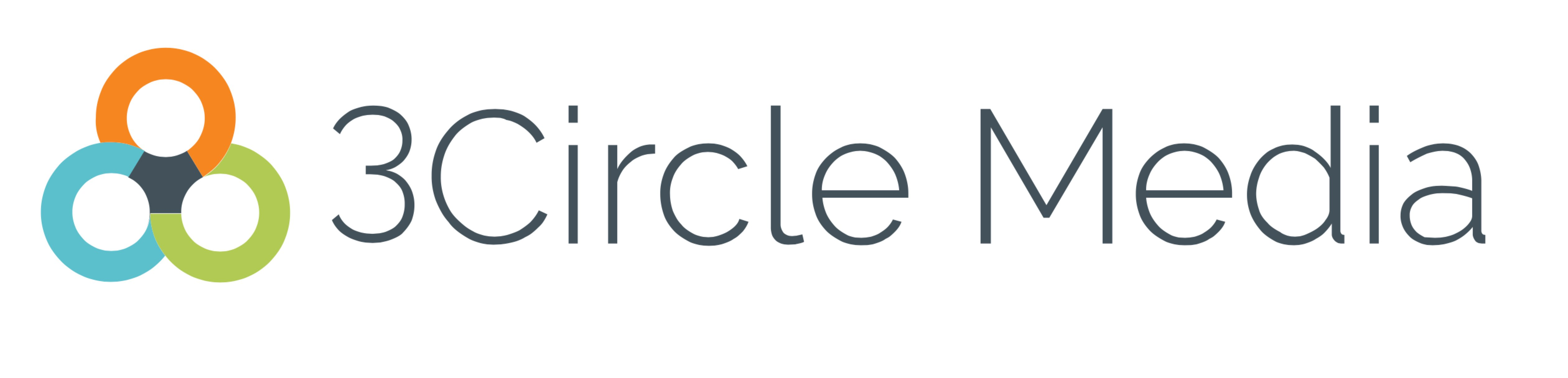3Circle Media Website Design Logo