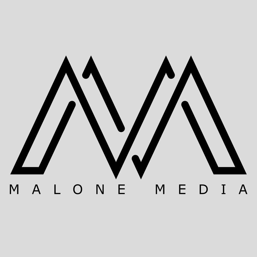 MALONE MEDIA Logo