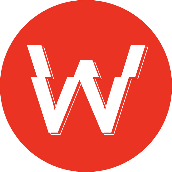 White Marketing Logo