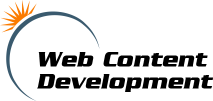 Web Content Development Logo