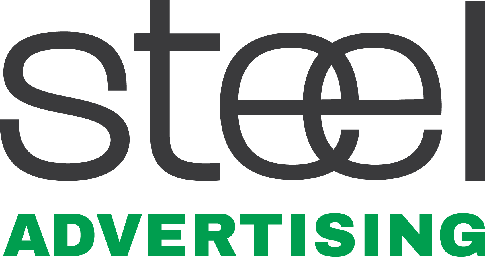 Steel Advertising Logo