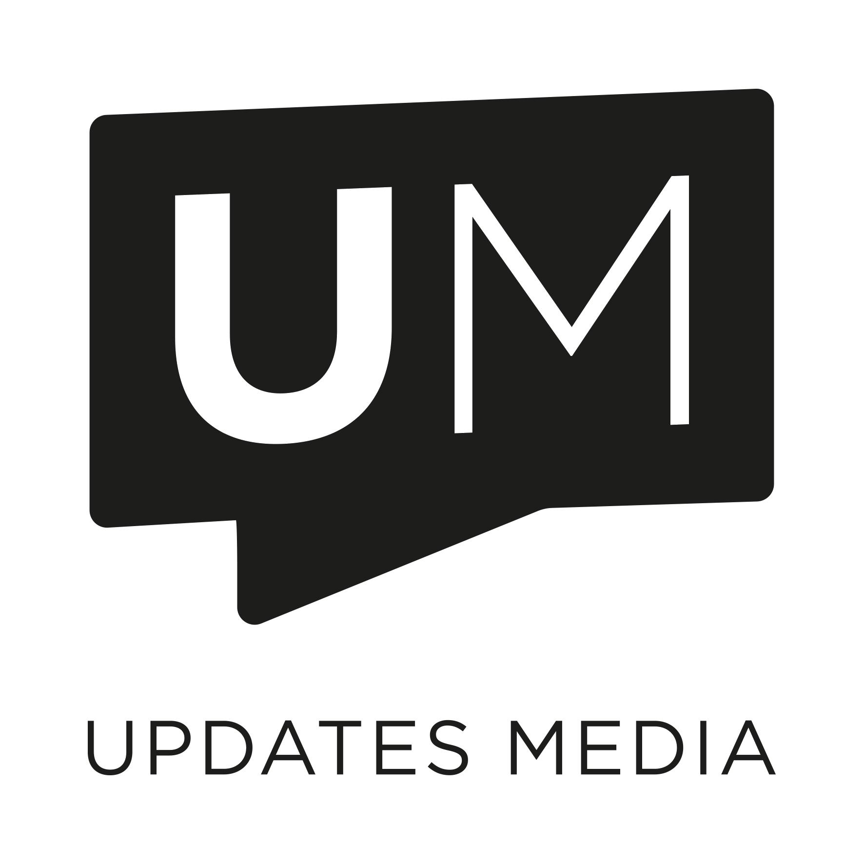 Updates Media Logo