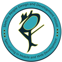 Sketchy People Design and Development House Logo