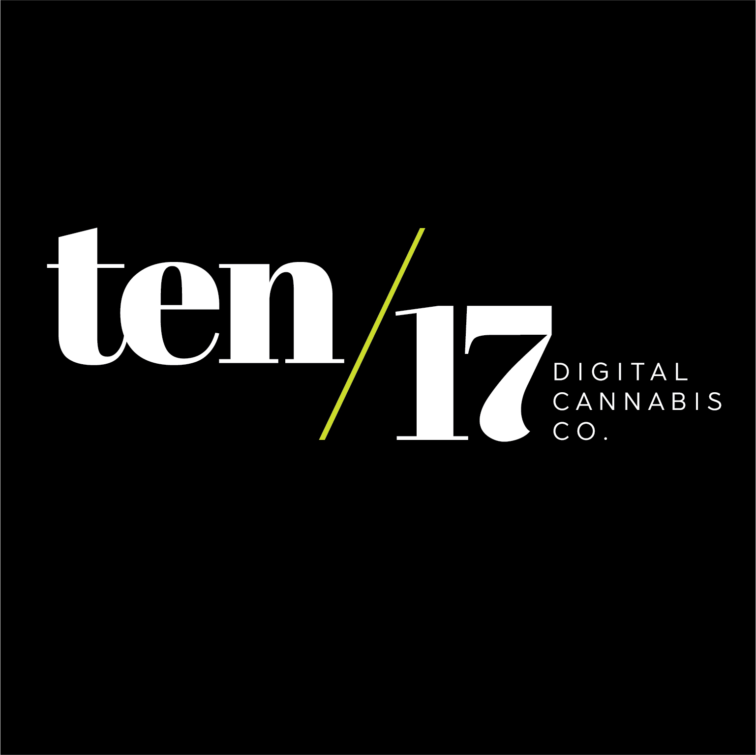 Ten/17 Digital Cannabis Co. Logo
