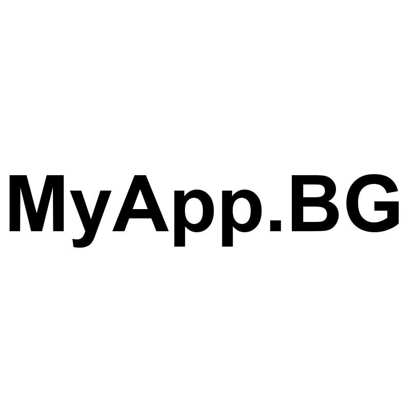 MyApp.BG Logo