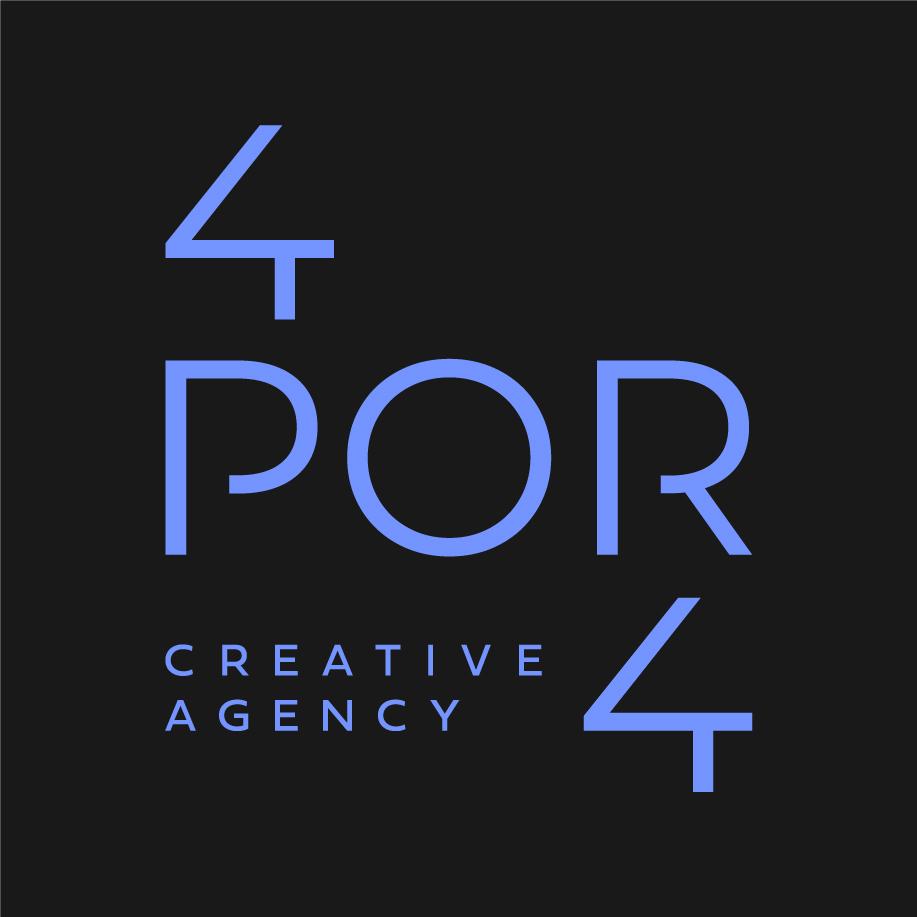 4por4 | creative agency Logo