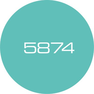 5874 Design Logo