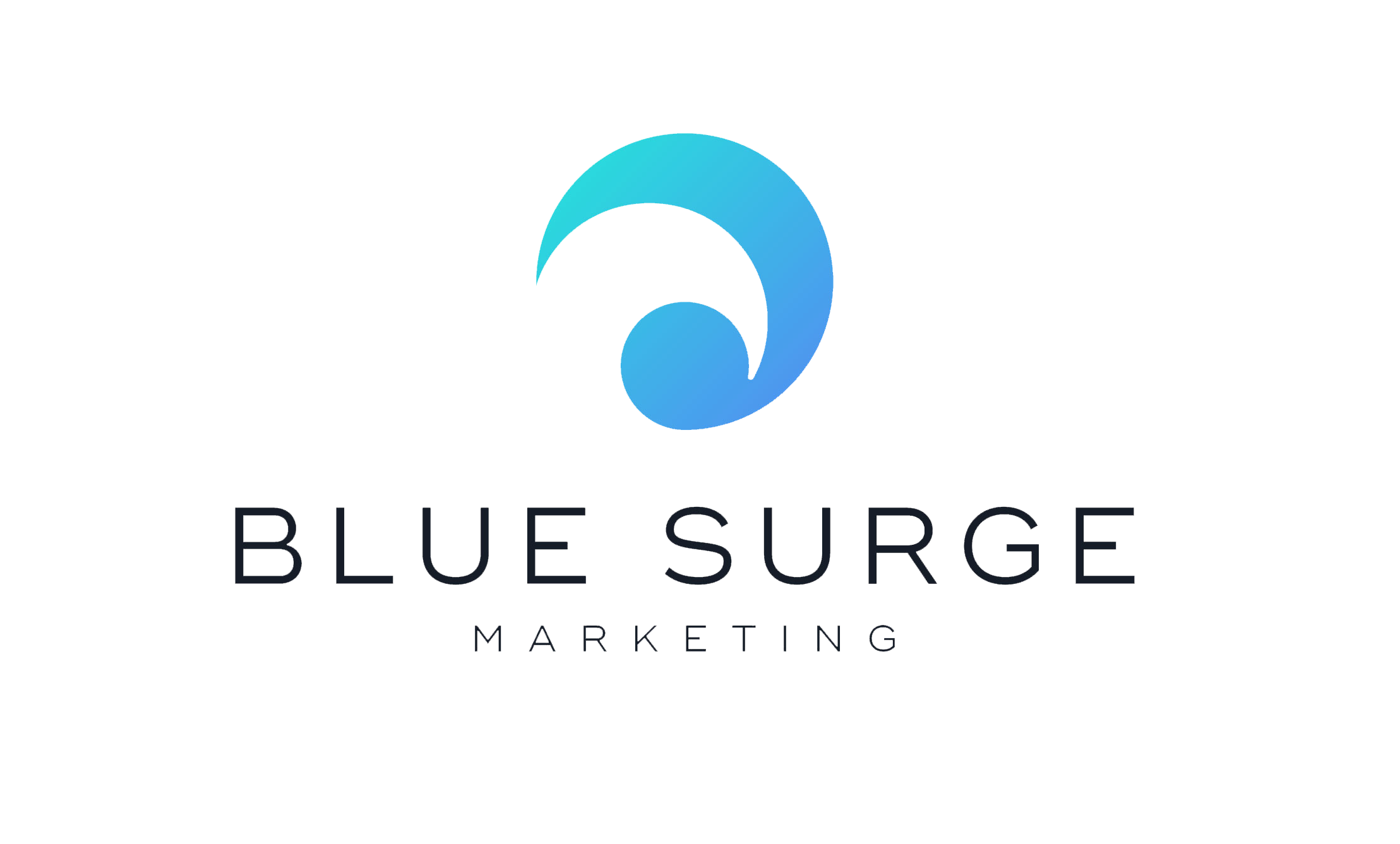 Blue Surge Marketing Agency Logo