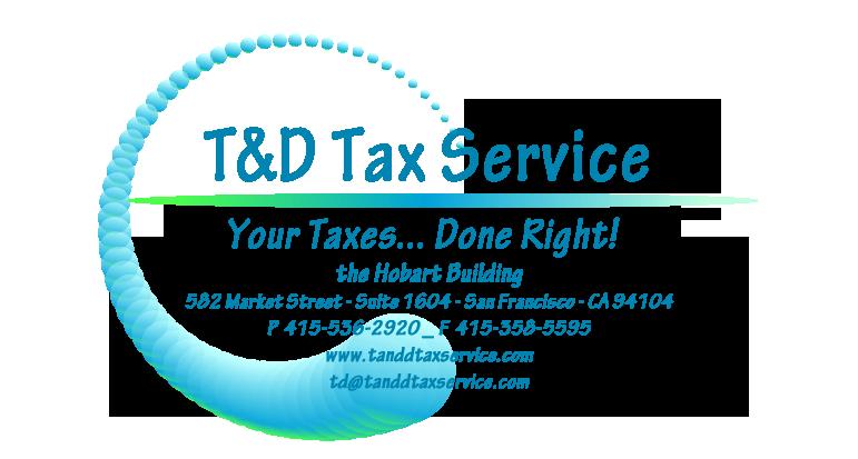T&D Tax Service Logo