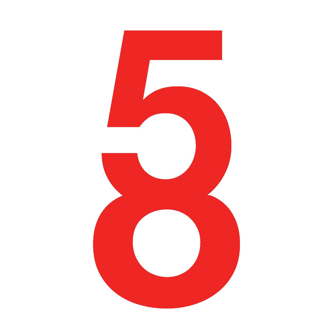 5 + 8 Logo