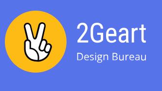 Creative Design Bureau 2 Geart Logo