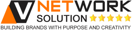V Network Solution Logo