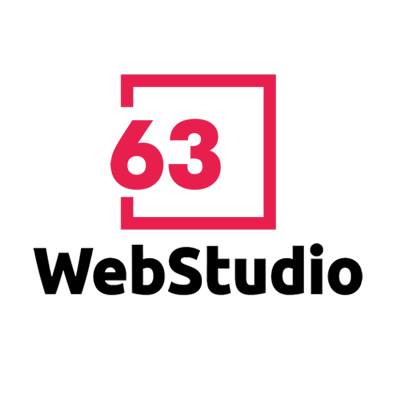63 WebStudio Logo