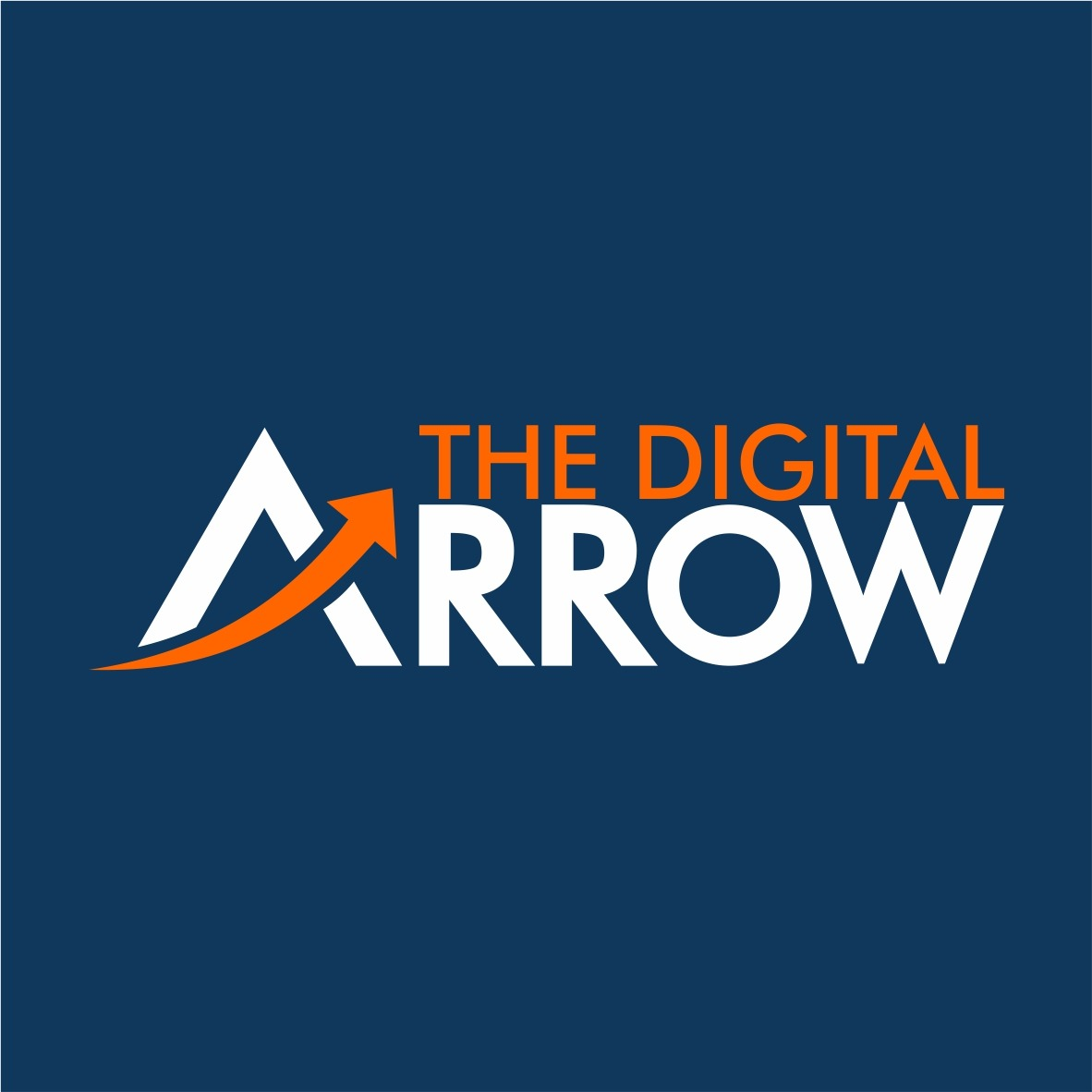 The Digital Arrow Logo