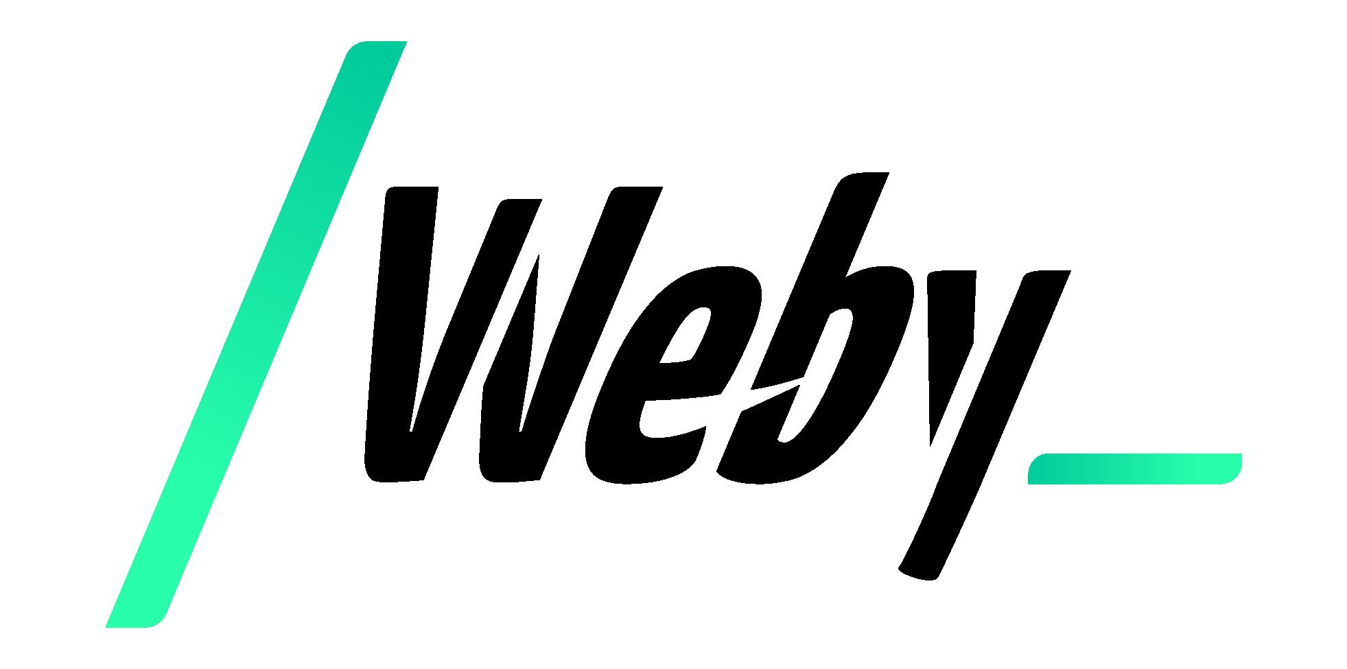 Weby Agency Logo