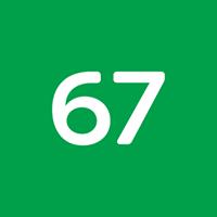 67 Creative Agency Logo