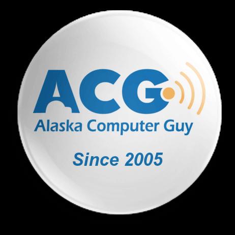 Alaska Computer Guy Logo