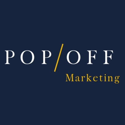 PopOff Marketing Logo