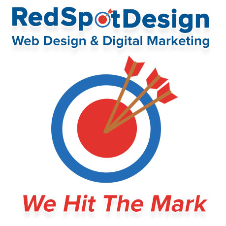 Red Spot Design Logo