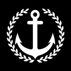 Black Anchor Design Logo