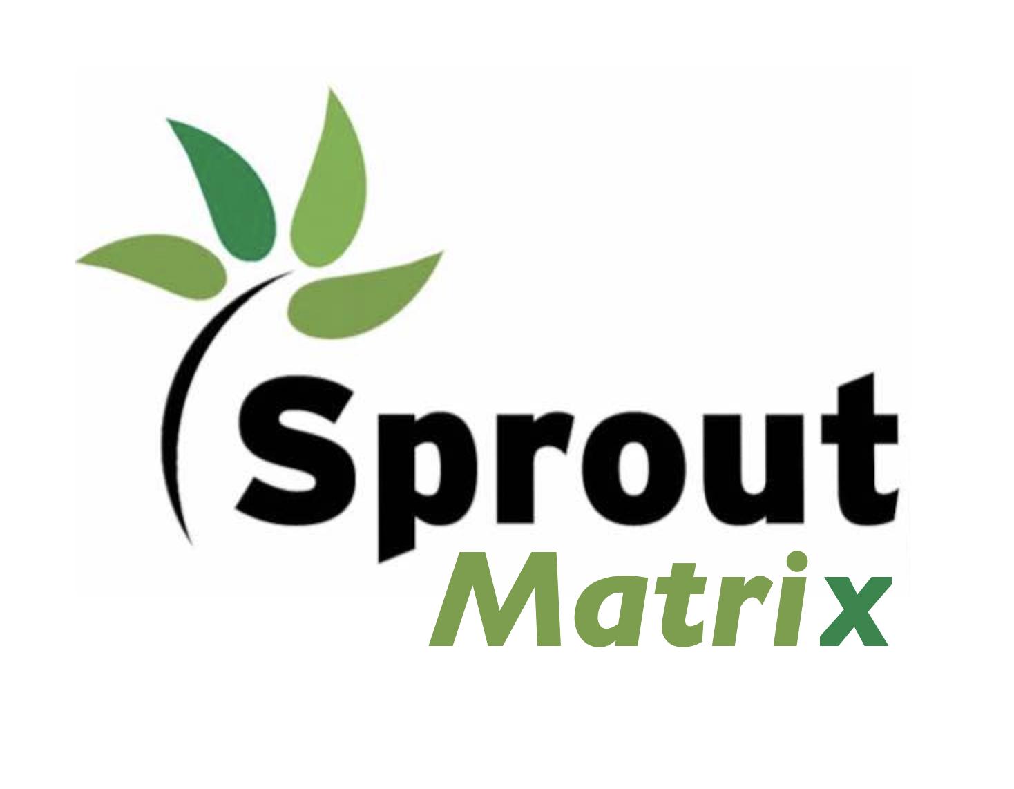 Sprout Matrix Logo