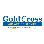 Gold Cross Answering Service Logo