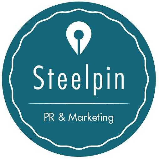 Steelpin PR & Marketing Logo