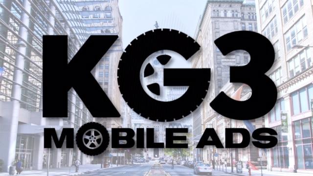 KG3 Mobile Advertising Logo