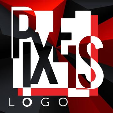 PIXELS LOGO Logo