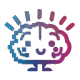 Digital Brain Food Logo