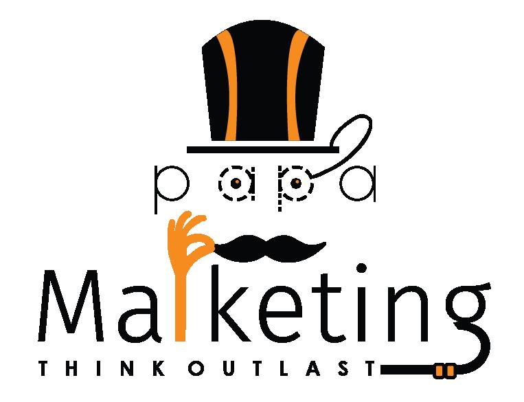Papa Marketing Logo