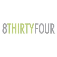 8THIRTYFOUR Logo