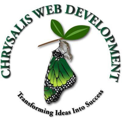 Chrysalis Web Development Logo