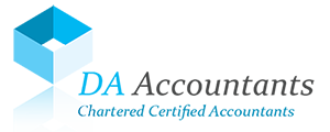 DA Accountants Logo