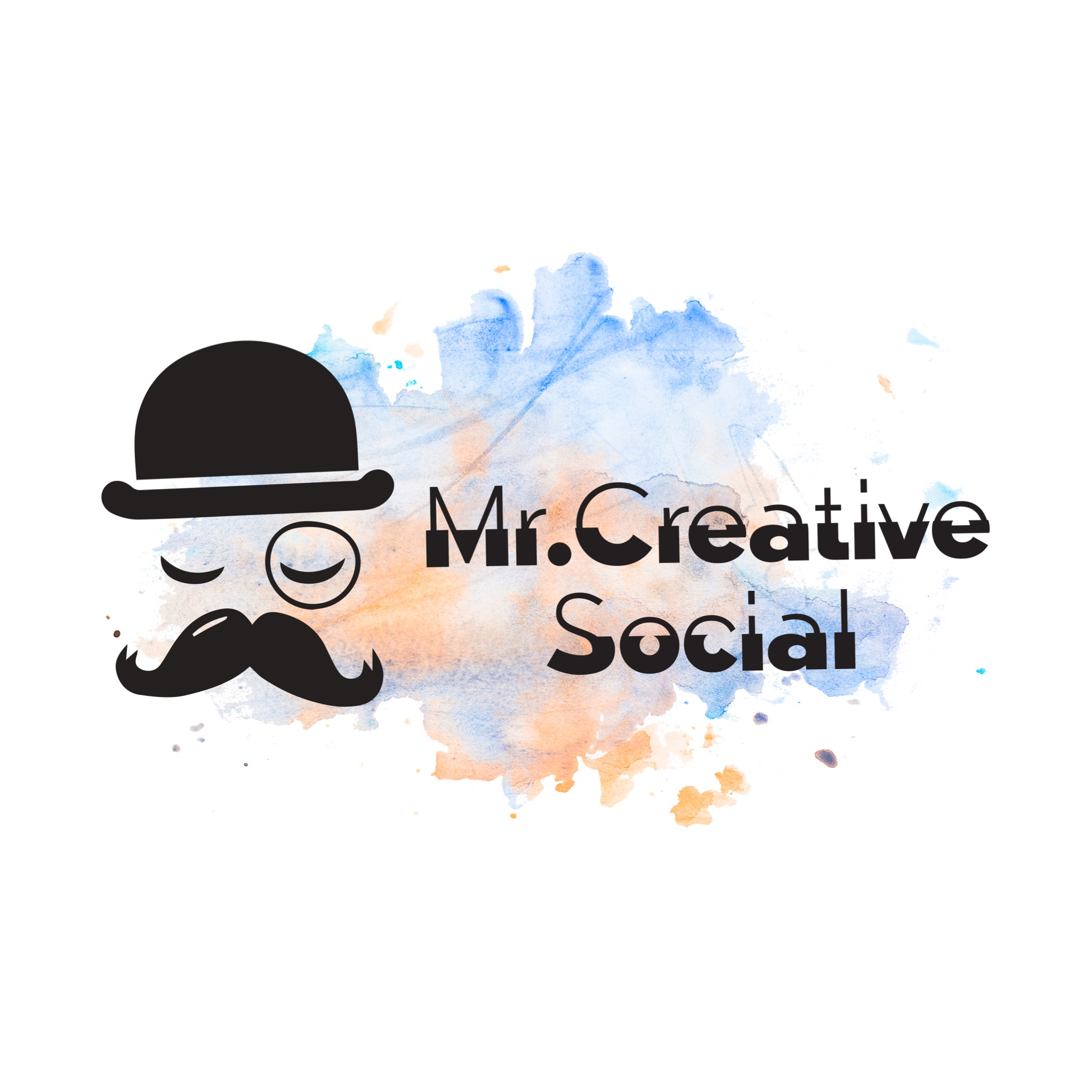 Mr Creative Social Logo