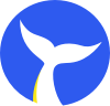 Blue Whale Apps Logo