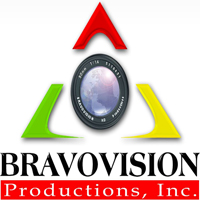 BRAVOVISION Productions, Inc. Logo