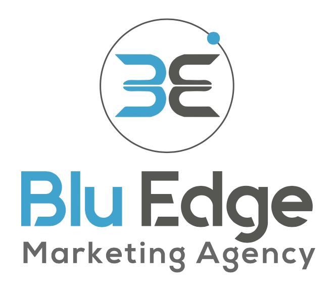 Blu Edge marketing agency Logo