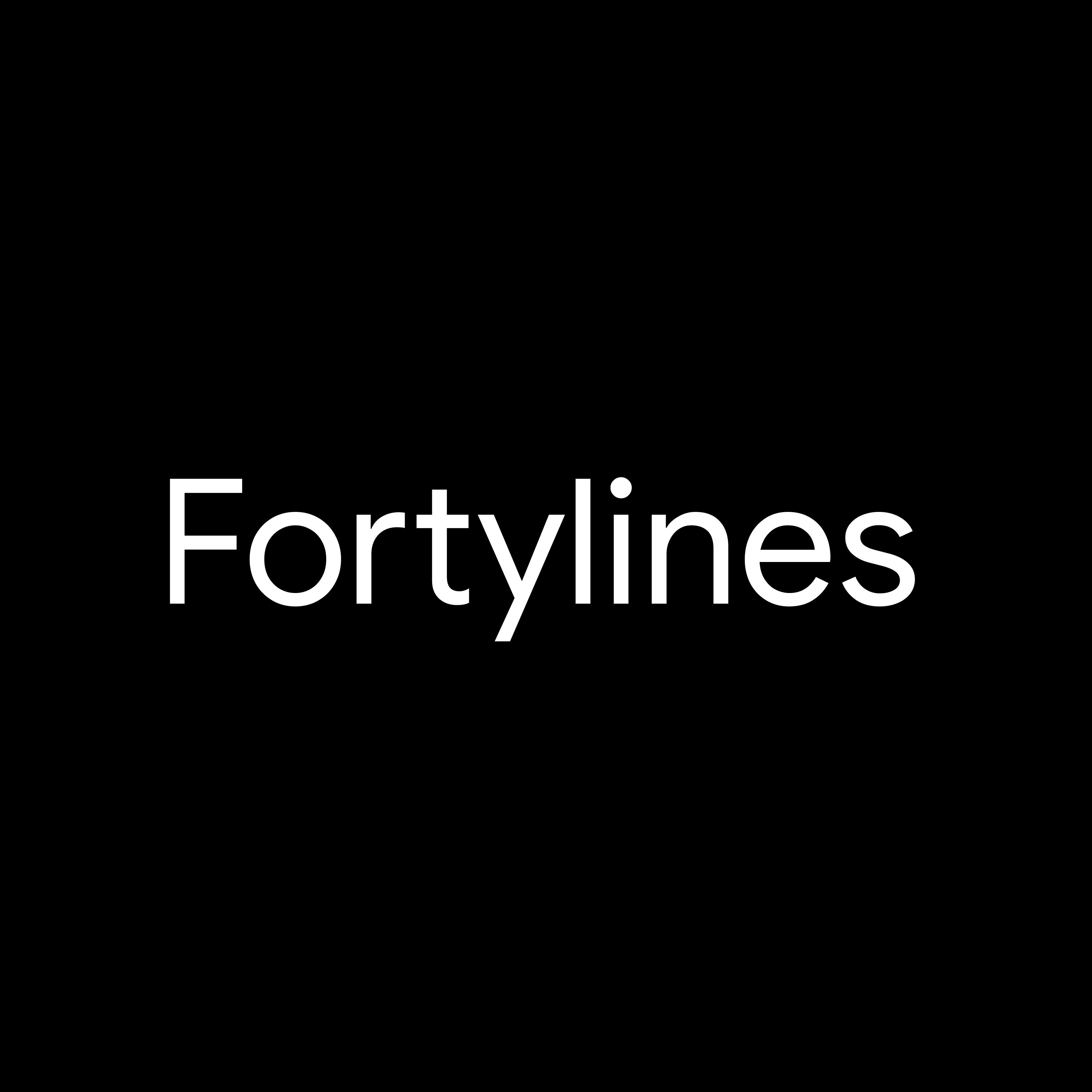 Fortylines IO Logo