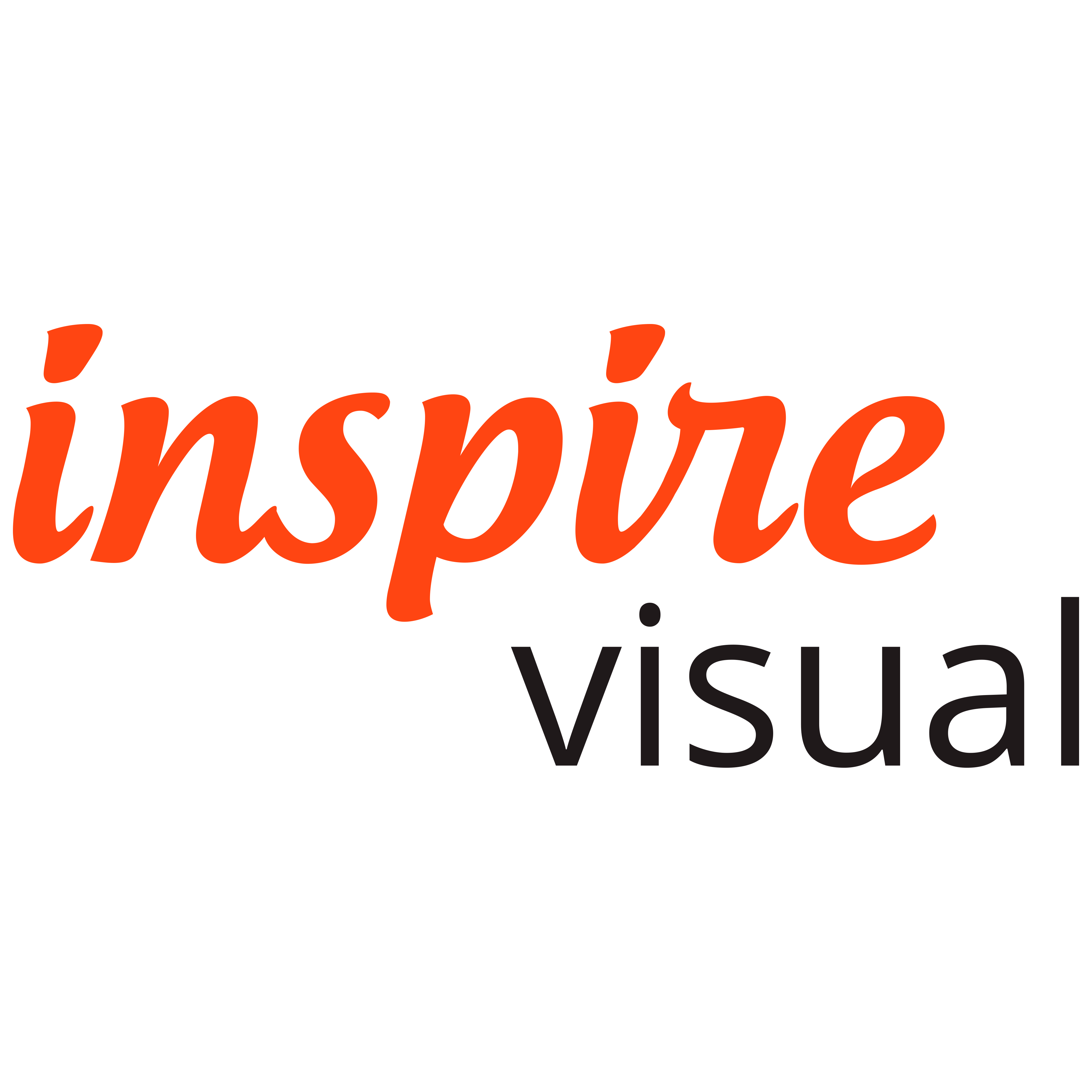 Inspire Visual Logo