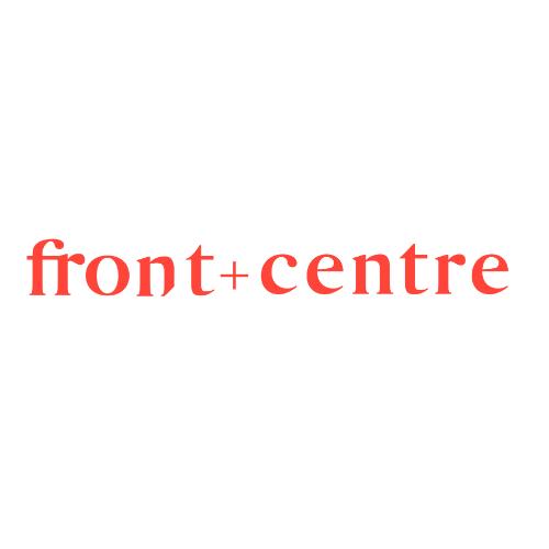 front + centre Logo