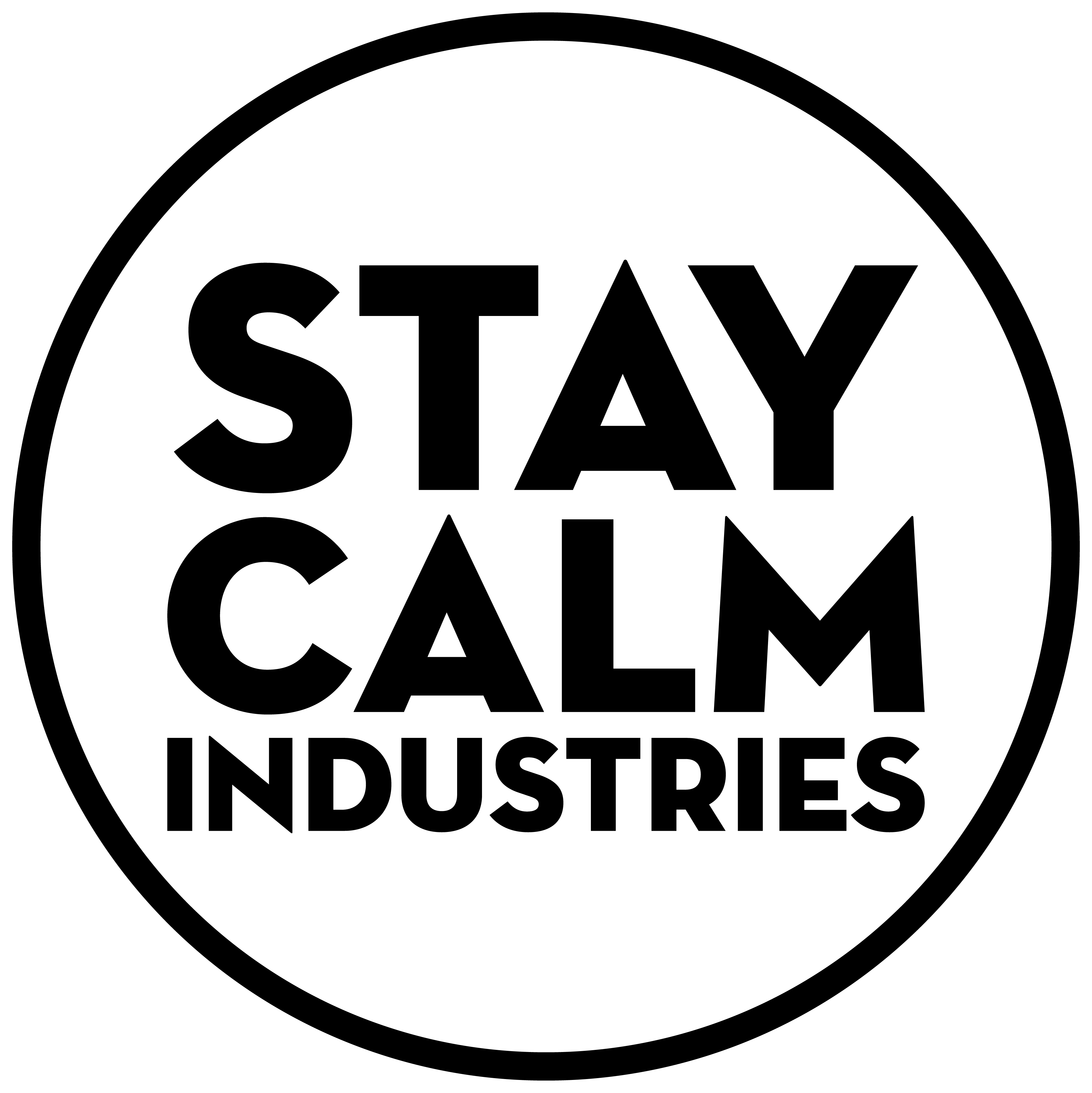 Stay Calm Industries Logo