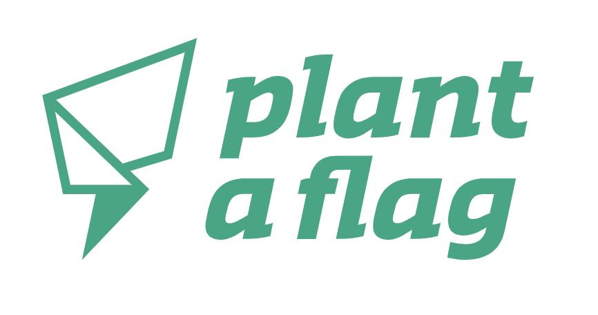 Plant a Flag Logo
