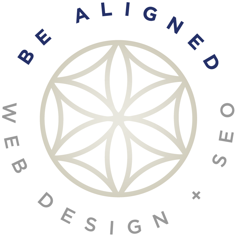 Be Aligned Web Design Logo
