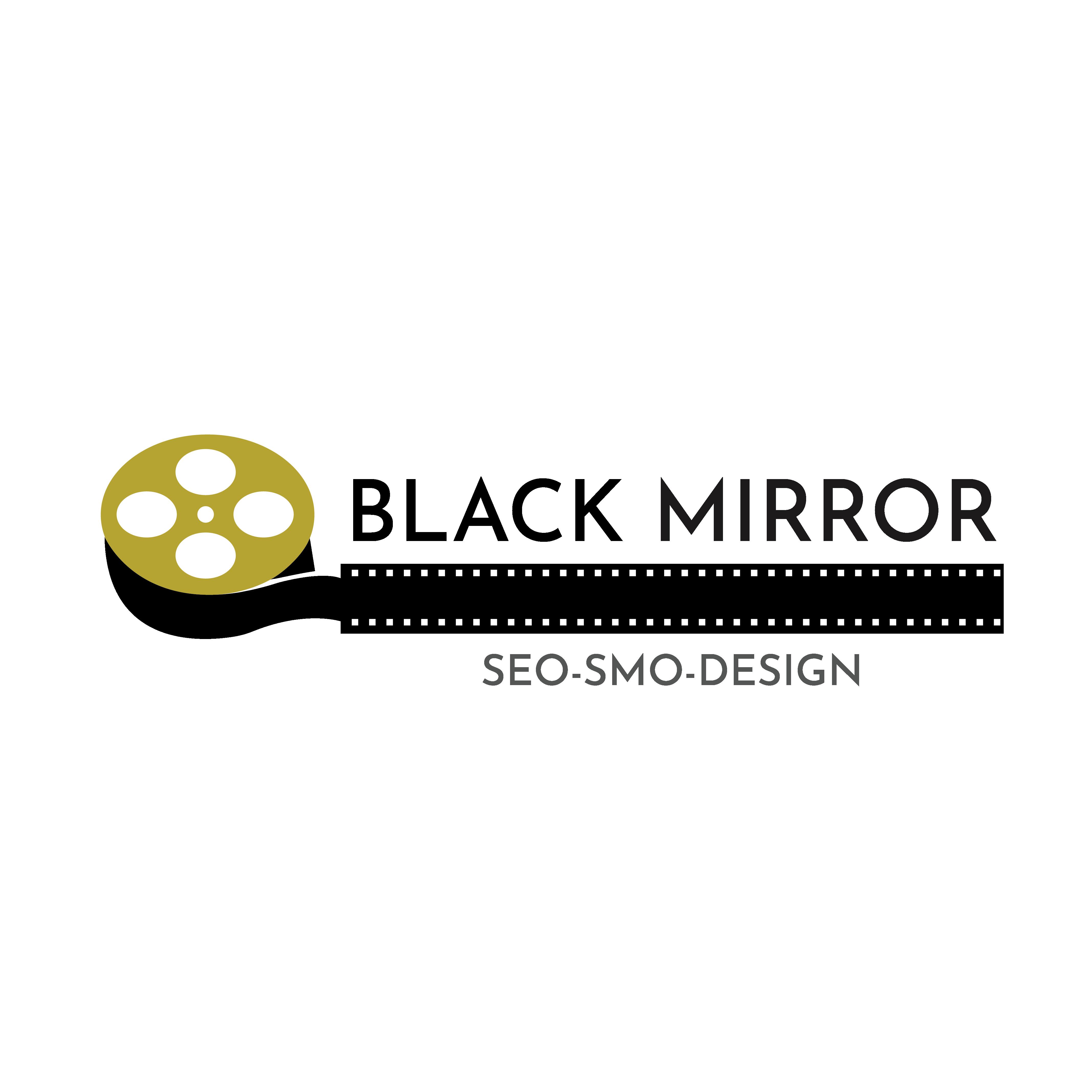 Black mirror arts Logo